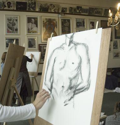Naaktmodel tekenen - ezel | Beleef Breda