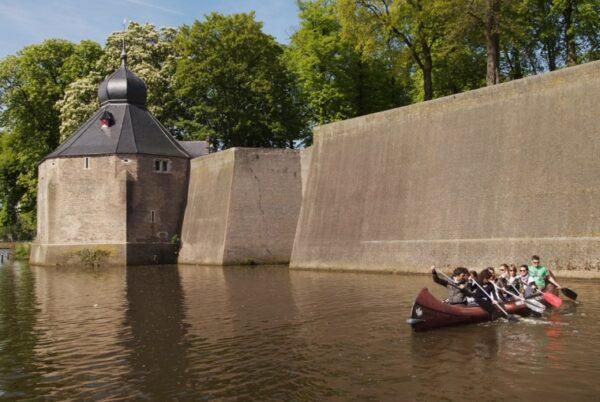 Kano varen in Breda